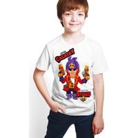 Brawl Stars - Colt - Dijital Baskılı Beyaz Kişiye Özel T-Shirt E-05