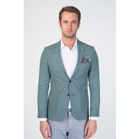 Centone Ceket Comfort Fit 6 Drop 20-0029 Yeşil 50