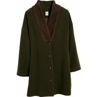 Yargıcı Kadın Yaka Detaylı Palto