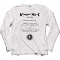 Kendim Seçtim Death Note Black Edıtıon Ölüm Oyunu 4 Uzun Kollu Sweatshirt