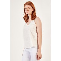 Manche Ekru Kadın Askılı Bluz Mk20S162661