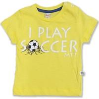 Mutti I Play Soccer Baskılı Erkek Bebek T-Shirt