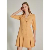Ngstyle Kadın Çift Düğmeli Ceket Elbise