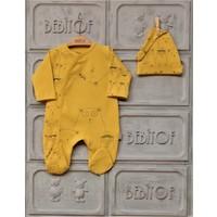 Bebitof Erkek Bebek 0-6 Ay Toplu Ayılar Tulum %100 Pamuk