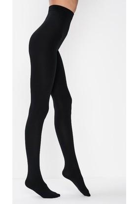 Penti Termal Siyah Polar Külotlu Çorap