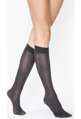 Penti Micro 40 (Mus) Düz Pantolon Dizaltı Çorap