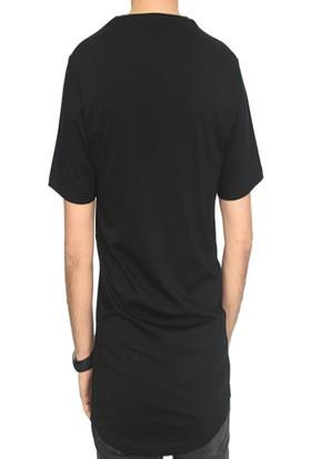 DGA Freedom Baskılıu Siyah T-Shirt