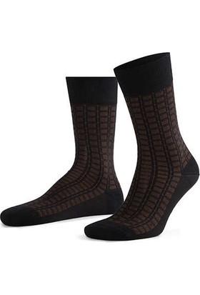 Aytuğ Erkek Bambu Çorap Desenli - 14021