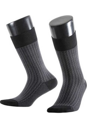 Aytuğ Erkek Bambu Çorap Desenli - 14038