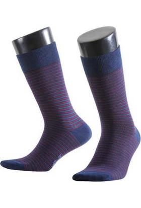 Aytuğ Business Erkek Penye Çorap Desenli - 11018