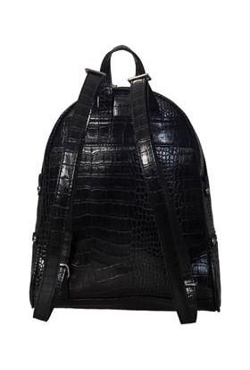 Sergio Giorgianni Luxury SG1584 Siyah Krk Kadın Sırt Çantası