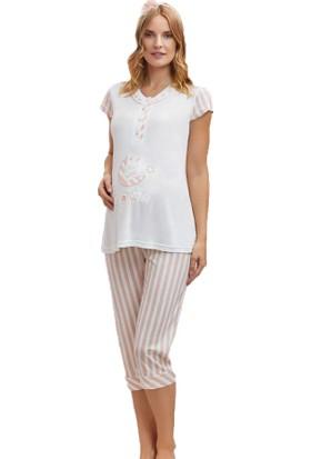 Dowry 24284 Kadın Yazlık Lohusa Pijama Takım