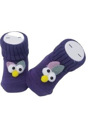 Baby By Bumbo Şaşkın Kuş Aksesuarlı Bebek Çorap