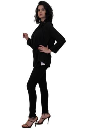 Discrete Boyundan Bağlamalı Bluz