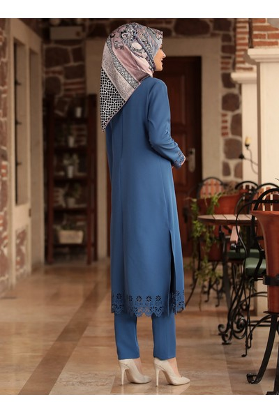 Amine Hüma Kadın Yaprak Lazer 2'li Takım