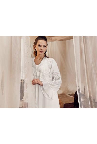 Artış Collection Kadın Lux Üçlü Sabahlık Pijama Takım