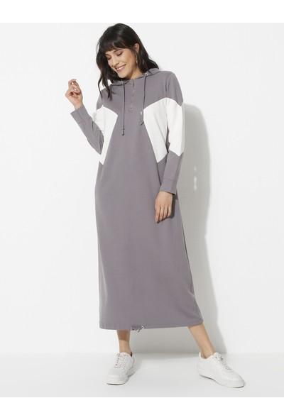 Laruj Kadın Kapüşonlu Spor Elbise