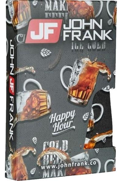 John Frank Baskılı Boxer JFBD289-ICECOLD
