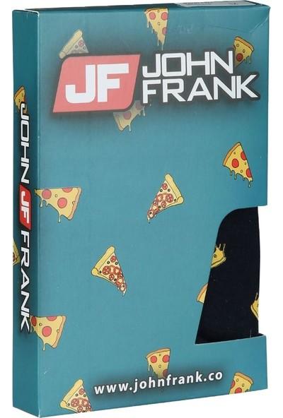 John Frank Baskılı Boxer JFBD299-PIZZA