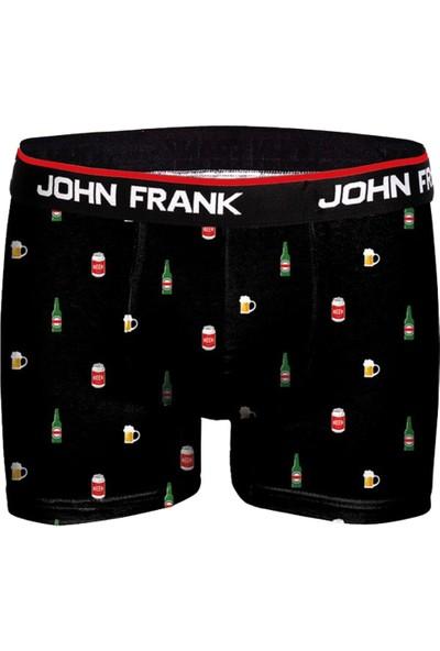 John Frank Baskılı Boxer Drinks JFBD304-DRINKS
