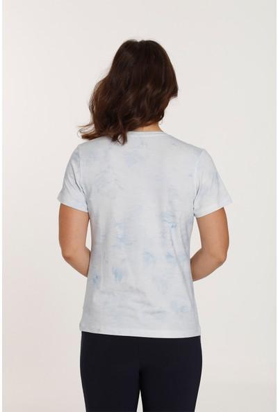 Top Secret Büyük Beden Baskılı T-Shirt