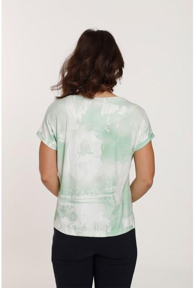 Top Secret Büyük Beden Love Baskılı T-Shirt