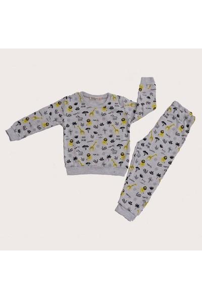 Isobel Safari Bebek Pijama Takımı Gri 24 - 36 Ay