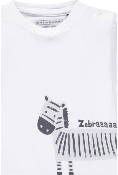 Bellybutton 208-2921 Organik Unisex Bebek T-Shirt