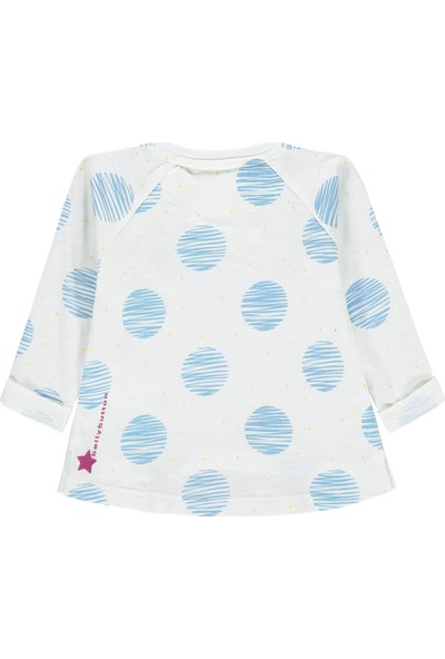 Bellybutton 208-2073 Organik Kız Bebek T-Shirt