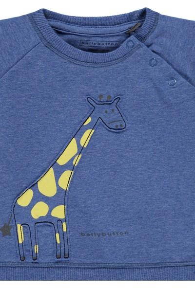 Bellybutton 208-2463 Organik Erkek Bebek Sweatshirt