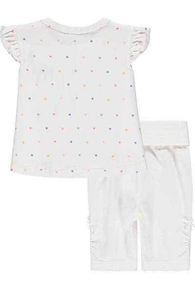 Bellybutton Mn&Me 208-5115 Organik Kız Bebek 2'Li Takım