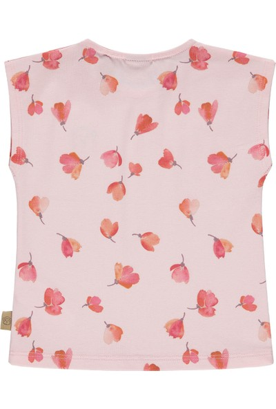 Bellybutton Mn&Me 208-3031 Organik Kız Bebek T-Shirt