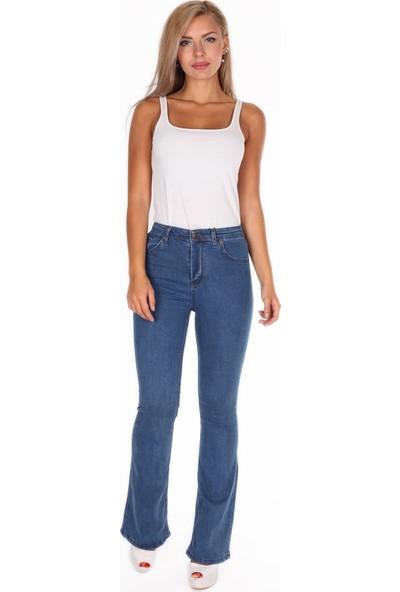 Egs Kadın Ispanyol Paça Pantolon 26