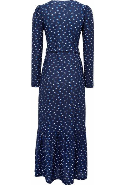 DeFacto Kadın Desenli Örme Elbise