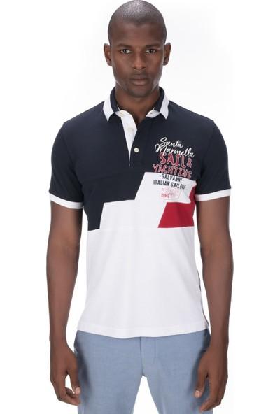 Galvanni Erkek Lacivert Polo T-Shirt - Nass