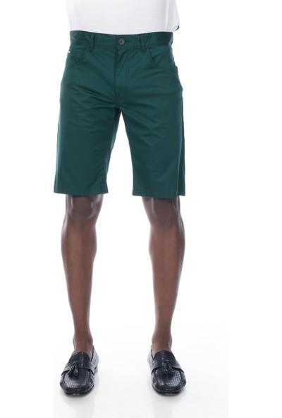 Galvanni Erkek Yeşil Bermuda - Vıd