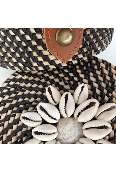 Corner Art Hasır Çanta