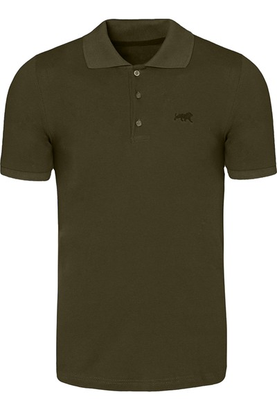 Genıus Store Erkek Polo Yaka T-Shirt Basic Tişört