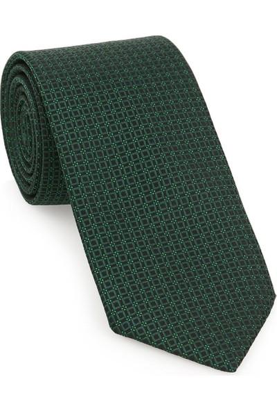 Brianze Yeşil Kravat Kol Düğmesi Hediyelik Set- Kmk-19