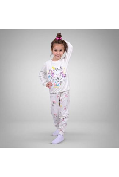 Isobel Pamuklu Kız Pijama Takımı 3 - 4 Yaş