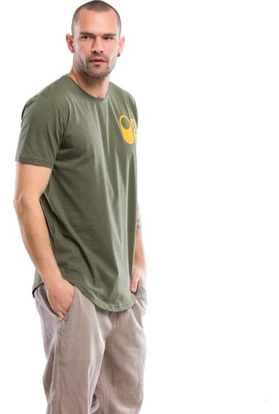 Kevin Erkek T1 Haki Tişört