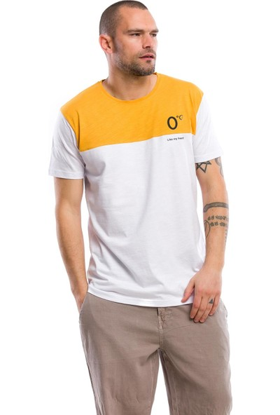 Kevin Erkek T3 Beyaz H. Tişört