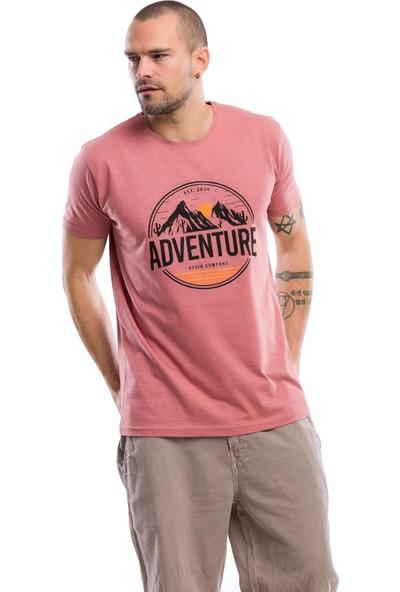 Kevin Erkek T7 Mercan Tişört