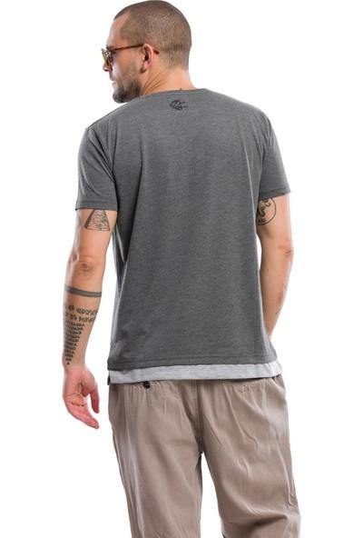 Kevin Erkek T9 K.Gri Tişört