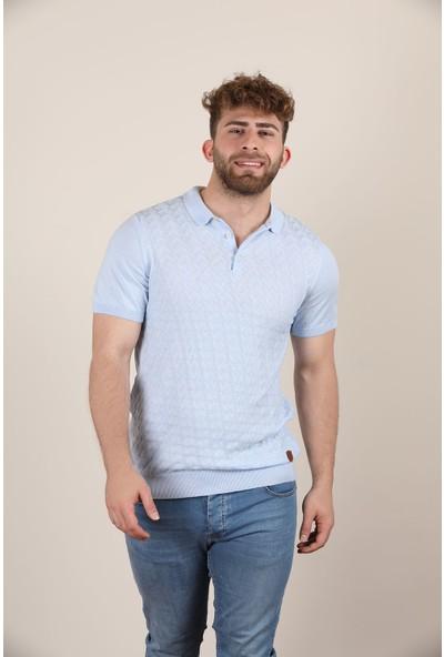 Alexander Gardi Polo Yaka T-Shirt, Mavi (AG503445)