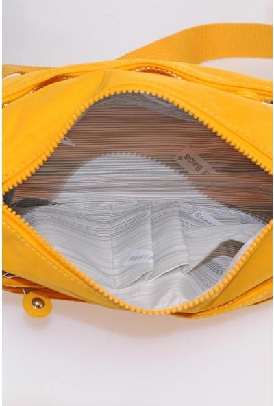 Smart Bags SMB1006-0086 Hardal Kadın Çapraz Çanta