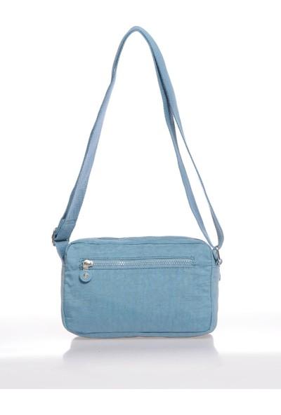 Smart Bags SMB1189-0050 Buz Mavi Kadın Çapraz Çanta
