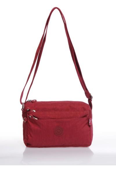 Smart Bags SMB1006-0021 Bordo Kadın Çapraz Çanta