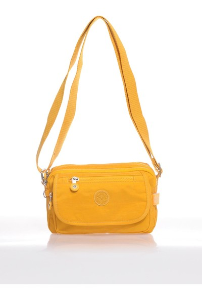 Smart Bags SMB1189-0086 Hardal Kadın Çapraz Çanta