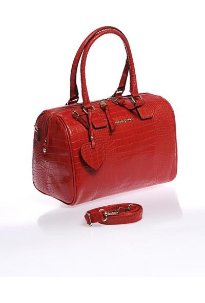 Sergio Giorgianni Luxury SG1082019-7 Kırmızı Kadın Omuz Çantası